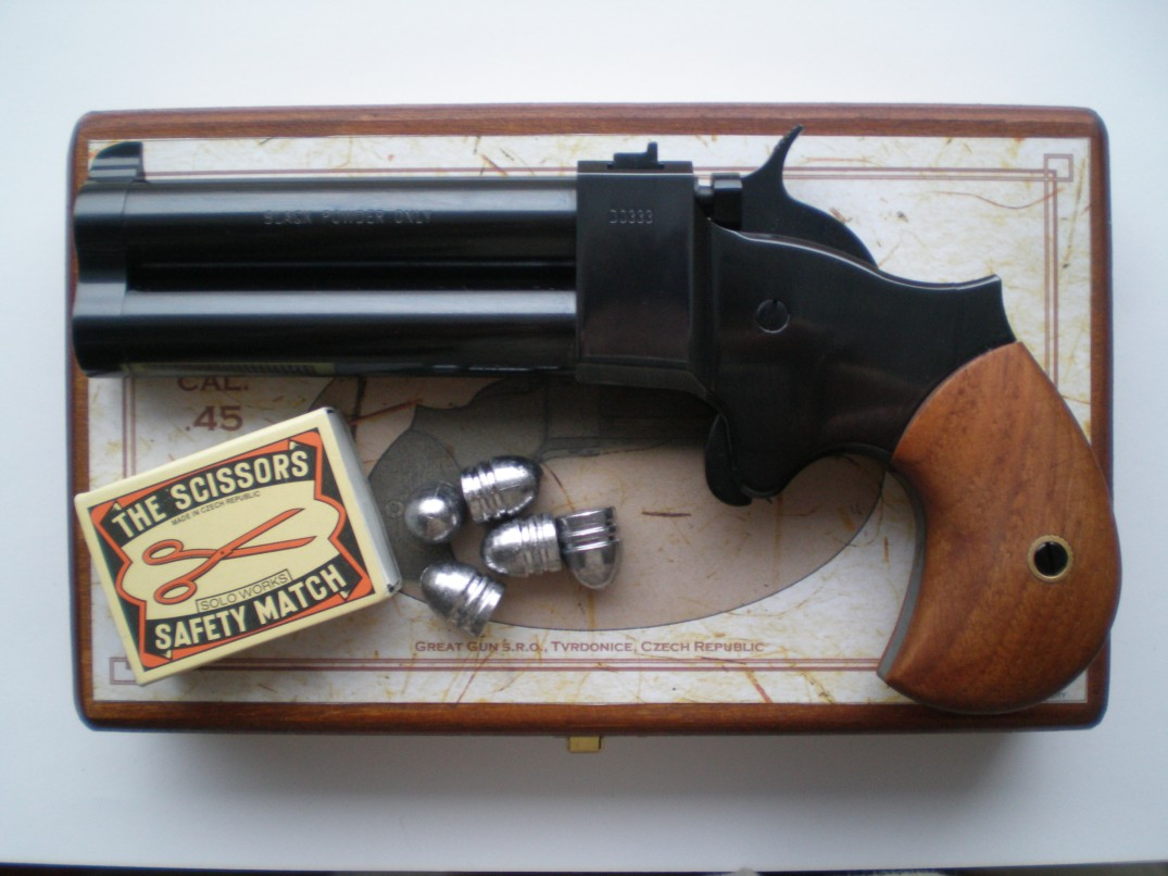 derringer great gun. Black Bedroom Furniture Sets. Home Design Ideas